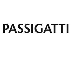 Logo von Passigatti - Designer von Schals, Tüchern & Accessoires
